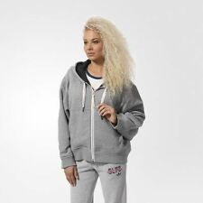 180$ Adidas WOMEN ORIGINALS ZIP HOODIE CORE HEATHER AB0549 M SIZE