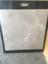 Grey natural marble effect 60 x 60 Polished porcelain wall and floor tile