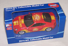 Gold Coast Suns 2014 AFL Collectable Toyota 86 Coupe Model Car New