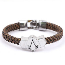 Hand Woven Leather Bracelet Bracelet Jewelry Mens Wrist Bands Unisex Wristband