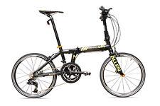 Allen Sports Ultra1 Lightweight Carbon Fiber Folding Bike - 20 Speeds