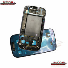 Front frame Bezel panel cover carcasas para samsung galaxy s3 i9300 sin display