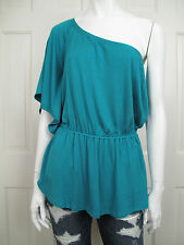 ELLA MOSS : L : Asymmetrical One Shoulder Jersey Top Large Anthropologie $88 NWT