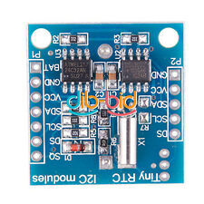 New RTC I2C DS1307 AT24C32 Real Time Clock Module For Arduino AVR PIC ARM 2 Wire