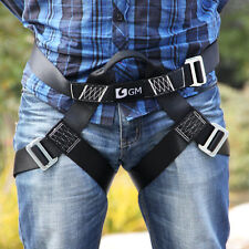 FREE SHIPPING High Quality Half Body Speed Harness / Climbing / Zipline / L Size