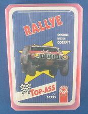 Quartett - Rallye - TOP ASS - Nr. 30755 - Auto Kartenspiel - NEU in Folie