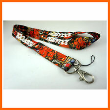 NEWEST Deadpool ID card holder, Key Neck Strap Lanyard, Cell Phone Neck Strap