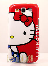 for samsung galaxy i9300 s3 S III  case white face red bow cute