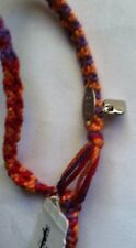 American Eagle Outfitters Yellow/Red Multicolor Woven Friendship Bracelet-New