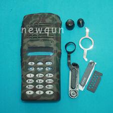 Camouflage Refurbish Kit Front Case Housing for Motorola Radio GP338