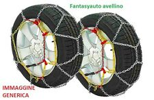 Catena da neve 12mm per 205/75-16 215/70-16 225/65-16 235/60-16