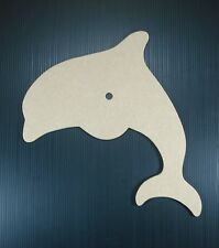 Dolphin clock face to paint or mosaic.