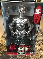 "Star Wars Episode 1 Electronic TC-14 12"" Action Figure HASBRO NEW IN BOX"