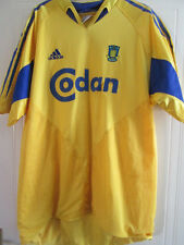 Brondby 2004-2005 Home Football Shirt Size Adult Large /39300