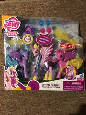 MLP G4 Crystal Princess Ponies Collection, Luna, Celestia, Cadance