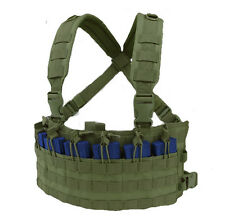 CONDOR MOLLE Rapid Assault Rifle Mag Holder Chest Rig mcr6-001 OLIVE OD Green