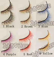 New 7kind color 1/3 1/4 1/6  Doll BJD Accessories Simulation Thick Eyelashes