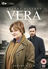 VERA ITV TV Series Complete Season 4 DVD Collection + Extras + Featurettes + New