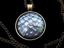Dragon Egg Pendant & Necklace- Glass Dome - Suit Game of Thrones / Targaryen Fan