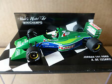 Minichamps 1:43 Andrea De Cesaris Jordan Ford 191 F1 Race Car 1991