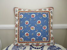 Gorgeous Accent Pillow Pierre Deux Blue Avignonet French Country Toile Fleur
