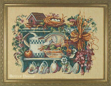 """19"""" FRAMED JACQUARD WOVEN TAPESTRY Home Sweet Home EUROPEAN DECOR PICTURE"""