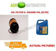 DIESEL OIL FILTER + FS PD 5W40 ENGINE OIL FOR FIAT IDEA 1.3 90 BHP 2005-10