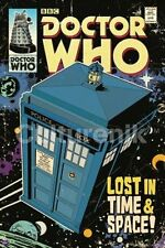 Doctor Who Tardis British Comic Book Cover 24 x 36 Poster, NEW ROLLED #5605