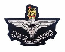 The Parachute Regiment Blazer Badge Gold & Silver Bullion Wire Badge v Accurate