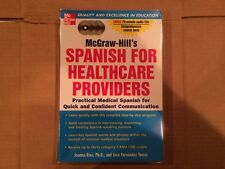 McGraw-Hill's Spanish for Healthcare Providers by Jose Fernandez and Joanna...