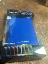 New Mercury Blue Jelly Phone  Case Samsung Galaxy Note II 2