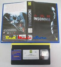 film VHS INSOMNIA Al Pacino Robin Williams Medusa Film 2002   (F49) no dvd