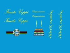 Coppi Bicycle Decals-Transfers-Stickers #3