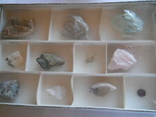 Natural Crystal Rock Collection Rocks Minerals Set
