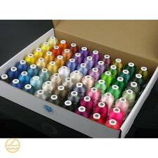 Machine Embroidery Thread Lot Brother Polyester Spools Varies Colors Set Quality