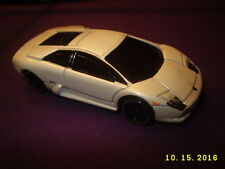 HOT WHEELS WHITE - LAMBORGHINI MURCIELAGO - 2002 DIECAST METAL TOY CAR Near mint