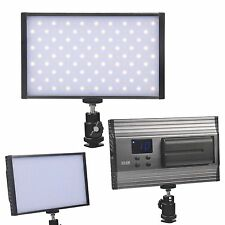 162 LED 1500LM Dimmable Camera Slim Lamp Panel  Video Light + battery for DSLR