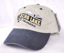*ECHO LAKE* California Ball cap hat OURAY embroidered longer bill