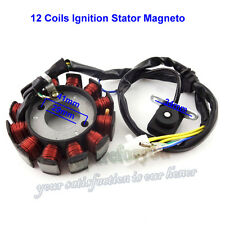 12 Coils Ignition Stator Magneto Moped Scooter GY6 125 150 cc Engine Chinese ATV