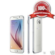 SAMSUNG Galaxy s6 sm-g920f SIMFREE 32gb Bianco Perla Smartphone Sbloccato un + Grado