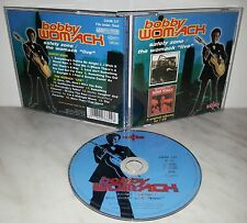 CD BOBBY WOMACK - SAFETY ZONE / THE WOMACK LIVE