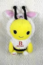 """Burt's Bees Plush Honey Bee in Bunny Rabbit Costume w Wings 2011 RARE 7"""""""