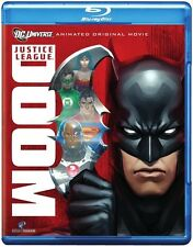 Justice League: Doom [2 Discs] [Blu-ray (2012, Blu-ray NEW) BLU-RAY/WS2 DISC SET