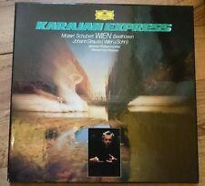 Karajan Express Wien - Mozart-Schubert-Beethoven-Johann Strauss, 2 LP-Box Stereo