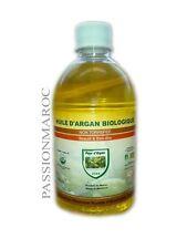 HUILE D'ARGAN OIL CERTIFIEE ECOCERT 500ML BIO USDA