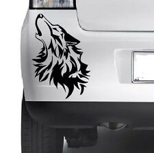 Wolf Bumper Sticker Window Laptop Car Truck 4x4 Jeep Decal Vinyl Xbox PC JDM