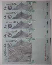 (PL) RM 1 ZV/AAA/ADT/ADU/AGP 0000904 UNC ALL SAME, LOW & FANCY NUMBER PAPER NOTE