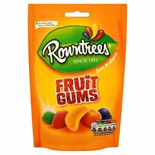 Rowntrees Fruit Gums 150G - Sold Worldwide from UK