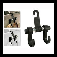 CAR SEAT HEAD-REST TWIN HANGER MULTI-PURPOSE HOOK FOR YOUR VEHICLE