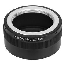 Fotga M42 42mm Screw Mount Lens To Canon EOS M M2 EF-M Mirrorless Camera Adapter
